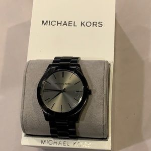 Black Unisex Michael Kors Watch